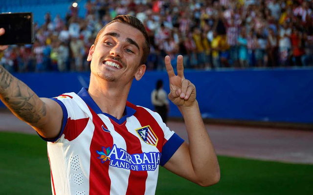 Random tweet sparks rumours on Antoine Griezmann moving to Manchester United