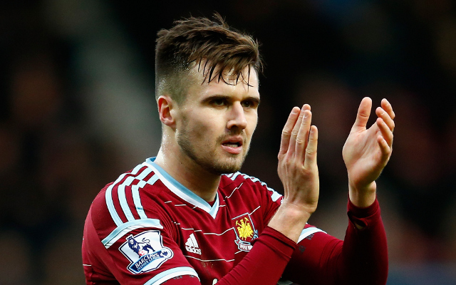 Southampton are targeting Arsenal defender Carl Jenkinson, 23, as a potential replacement for 24-year-old right-back Nathaniel Clyne, who has been linked with a move to Liverpool, <a href=