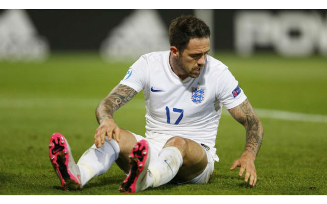 Liverpool fans TURN on Danny Ings after poor display for England U-21
