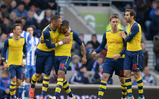 Arsenal open to Walcott-Sterling swap deal this summer with Liverpool