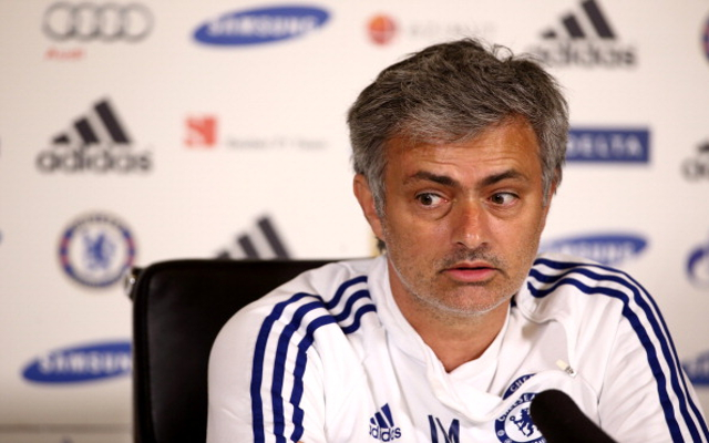 (Video) Chelsea boss Jose Mourinho refuses to answer John Stones question