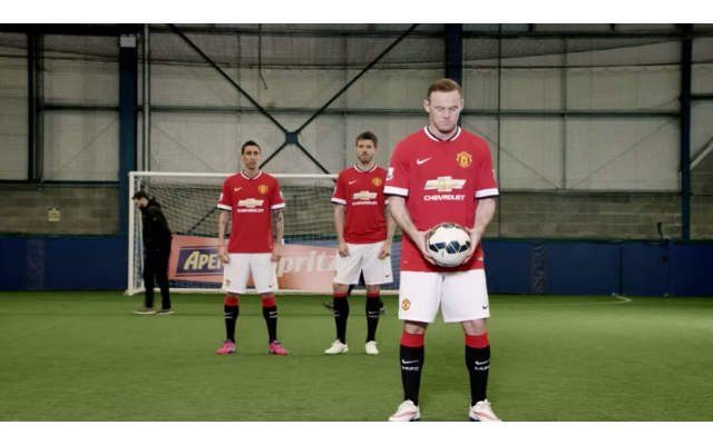(Video) Man United stars Wayne Rooney and Angel Di Maria star in terrible Aperol Spritz advert