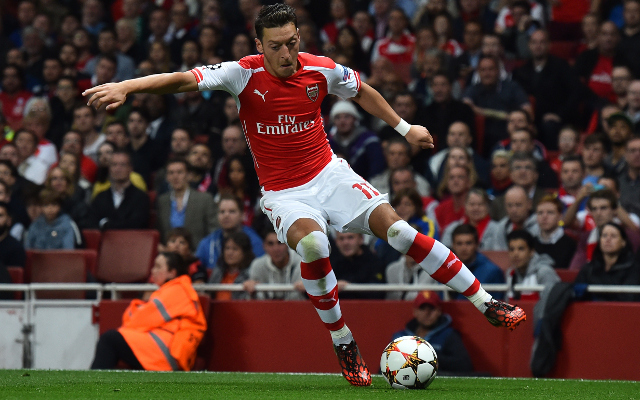 Mesut Ozil will only commit his future to Arsenal on one condition