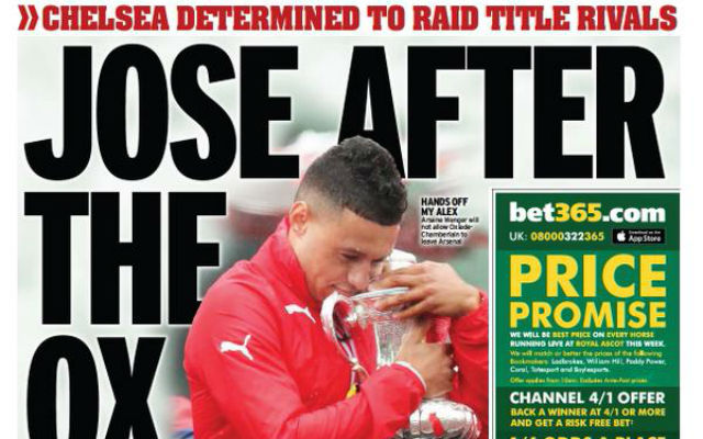 Chelsea want Arsenal's Alex Oxlade-Chamberlain as part of Petr Cech deal