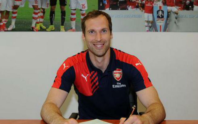 Arsenal goalkeeper Petr Cech reveals why he made ODD number choice