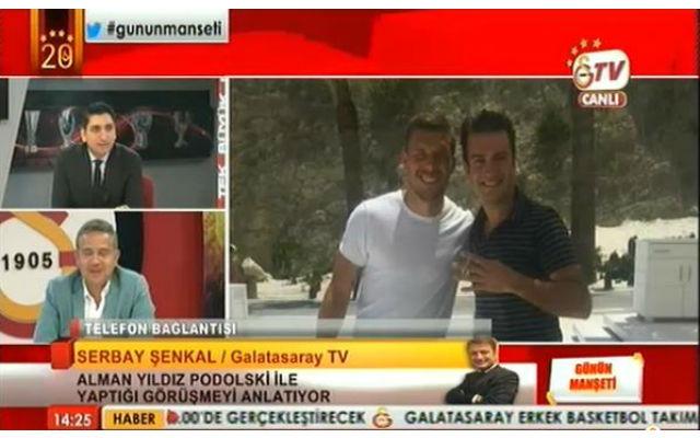 (Images) Arsenal striker Lukas Podolski arrives in Turkey for Galatasaray medical