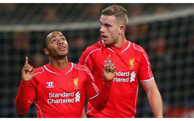 Jordan Henderson begs Raheem Sterling to stay at Liverpool