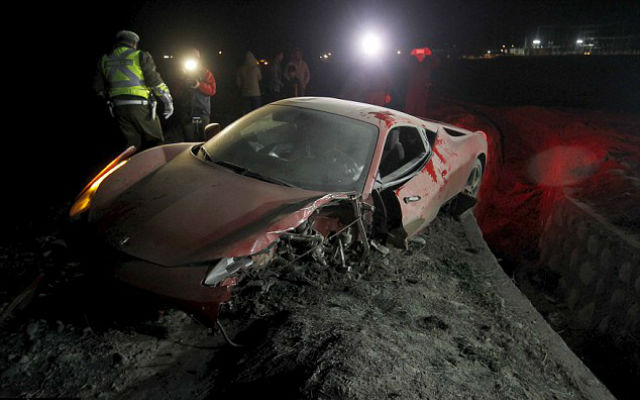 Arsenal target Arturo Vidal rushed to hospital after drunken car smash