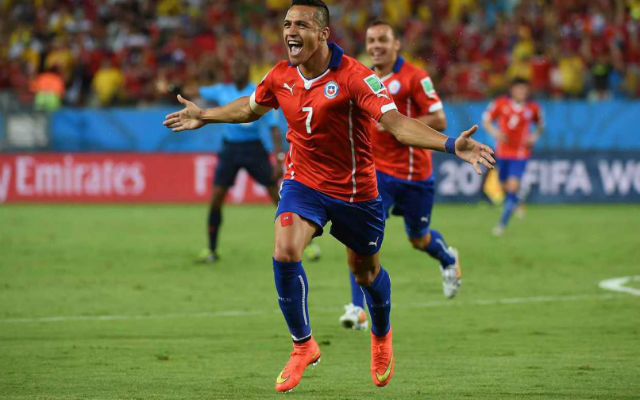 (Video) Arsenal's Alexis Sanchez DESTROYS Peru with INSANE assist