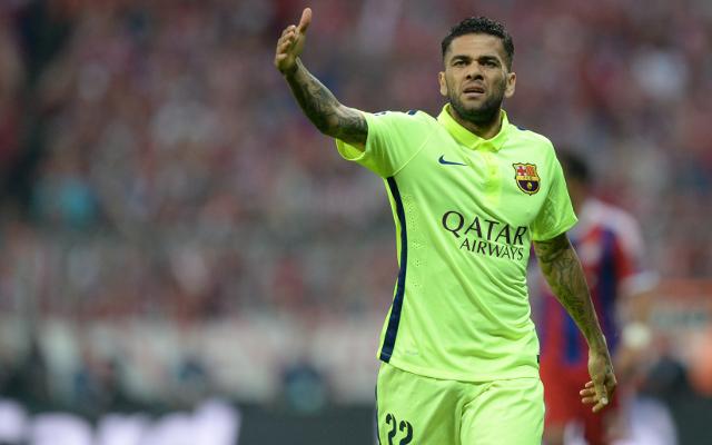 Dani Alves update: Manchester United confident of landing Barcelona full-back