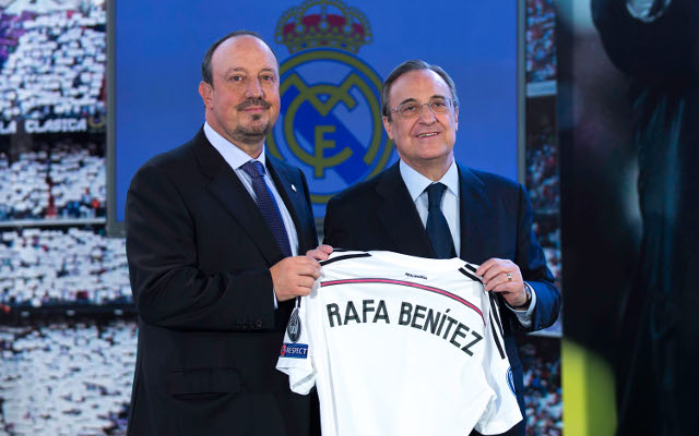 Rafael Benitez clashes with Real Madrid president five days after appointment