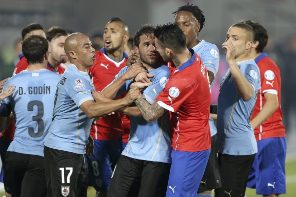 Copa America – Nine-man holders out as knockout stages begin