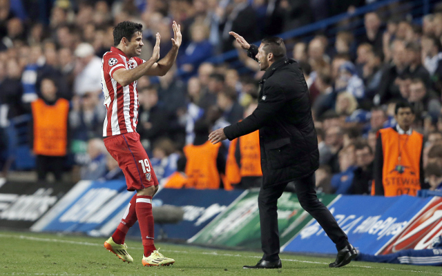 Atletico Madrid boss not deterred by Chelsea striker's desire to stay