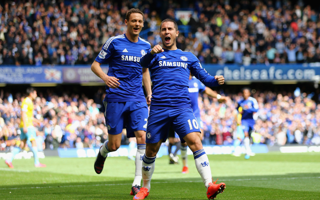 Belgians and Chelsea rule Premier League's most valuable XI