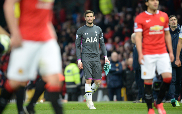Hugo Lloris hints that he wanted Man United move this summer