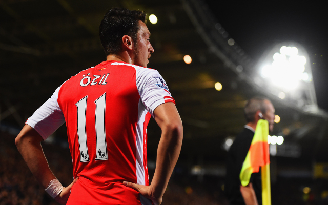 Arsenal's Mesut Ozil trolled after being kept quiet by another teenage defender