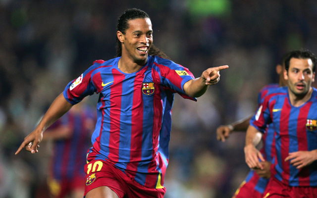 Leicester City were rejected by…Ronaldinho