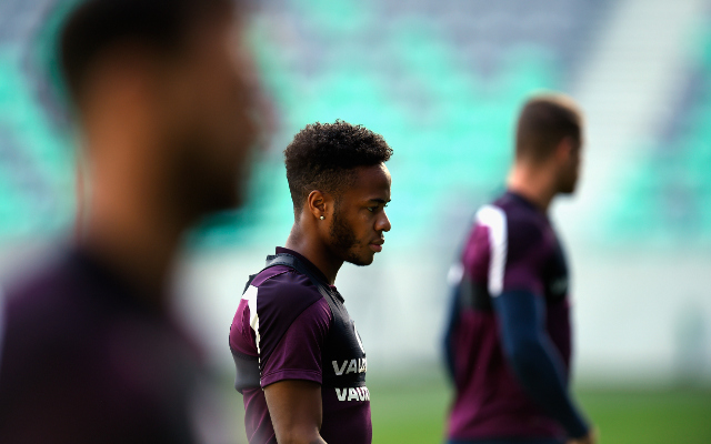 England confirmed line up v Slovenia: Raheem Sterling and Andros Townsend start