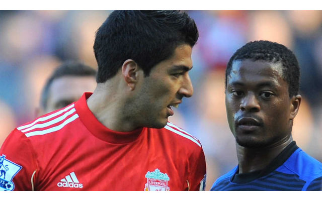 Has Patrice Evra ended his feud with Luis Suarez?