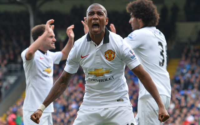 Man United winger willing to fill in as striker with Wayne Rooney set to miss PSV clash