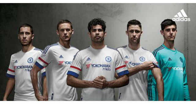 Chelsea unveil new BRIGHT WHITE away kit for 2015/16 season