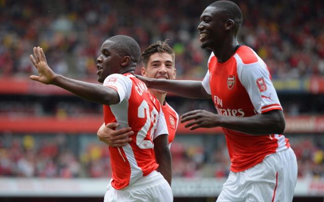 Joel-Campbell-Yaya-Sanogo-Arsenal