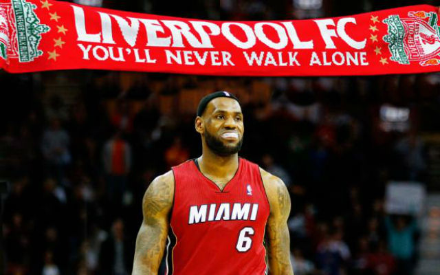 NBA LEGEND Lebron James BACKS Liverpool's Jordan Henderson FIFA 16 cover quest