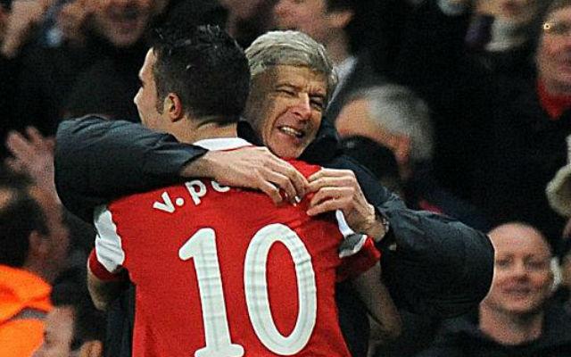Arsene Wenger pays glowing tribute to Robin van Persie following Turkey move