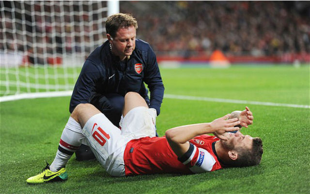 Arsene Wenger says Jack Wilshere picks up injuries by being so aggressive, but he won't ask him to change