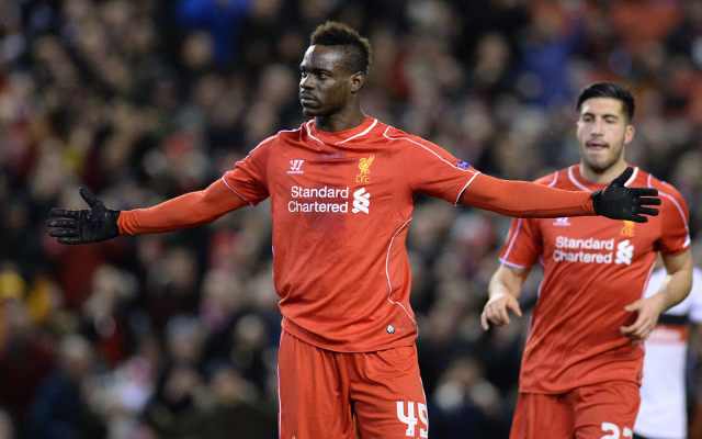 AC Milan in talks with Liverpool striker Mario Balotelli about possible return