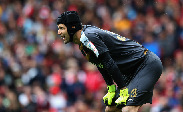 Cech's amazing record gives Arsenal hope