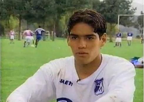 cristiano-ronaldo-508-radamel-falcao-very-young-in-colombia-millonarios