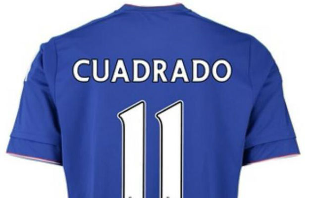 Juan Cuadrado STAYING at Chelsea as he's handed Didier Drogba's No.11 shirt