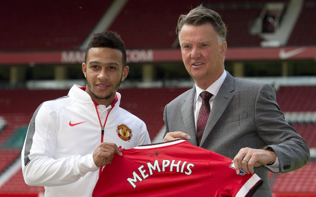 Memphis Depay keen to take Man United's No.7 shirt from Angel Di Maria