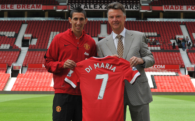 Angel Di Maria's contract with Manchester United contained a special clause