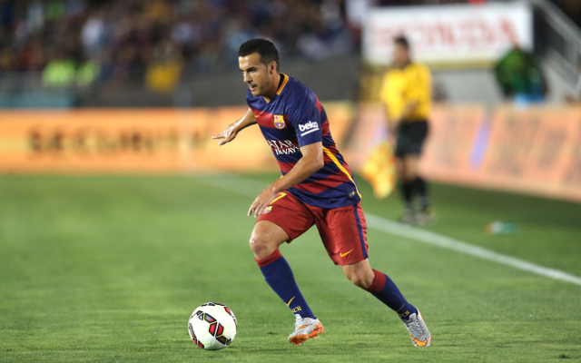 Barcelona to let Pedro join Man United after UEFA Super Cup clash