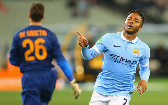 (Video) Raheem Sterling scores TWO MINUTES into Manchester City debut