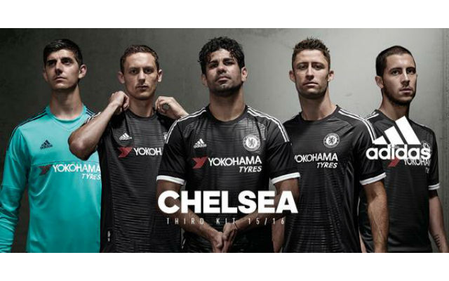 Chelsea launch STUNNING all-black third kit for 2015/16