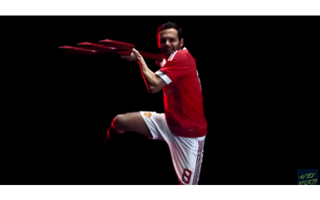 (Video) Man United officially unveil new £750m Adidas kit for 2015/16 season
