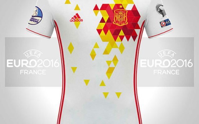 Leaked images of Spain's AWESOME new Euro 2016 away shirt