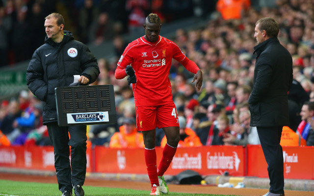 Mario Balotelli places blame on Brendan Rodgers after Liverpool nightmare comes to a temporary end