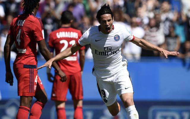 Arsenal target Edinson Cavani free to leave Paris Saint-Germain for £35m