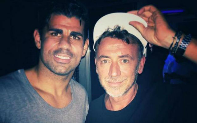 Chelsea striker Diego Costa parties in Ibiza nightclub after after disappointing Swans draw