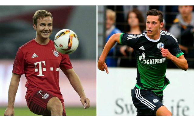 Man United target double move for Bundesliga stars Mario Gotze and Julian Draxler
