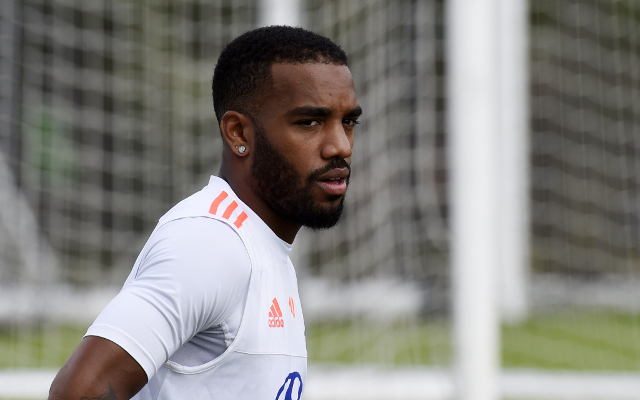 Arsenal and Man United target Alexandre Lacazette to snub Premier League interest to remain in France