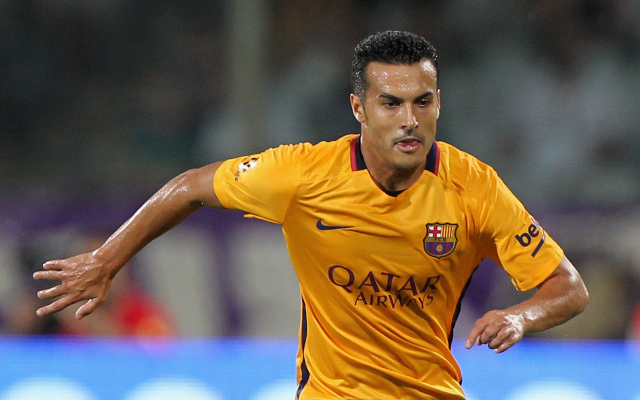 Barcelona tell Man United to pay Pedro's £22m release clause if they want to sign him