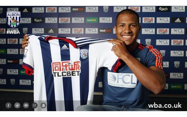 Done deal: Former Liverpool target completes club record £12m move to West Brom