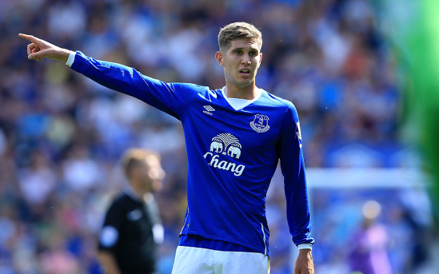 Chelsea hoping to seal £40m move for Everton's wantaway defender John Stones this week
