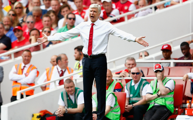 Arsene Wenger denies that Arsenal need new holding midfielder