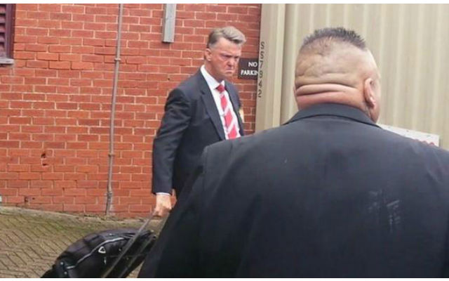 Man United star risks being dropped as he is 'scared' of Louis van Gaal's 'bulldog face'
